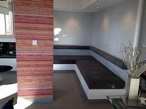 Banquette Sur Mesure : banquette sur b ti interieur d coupe mousse d coration ~ Premium-room.com Idées de Décoration
