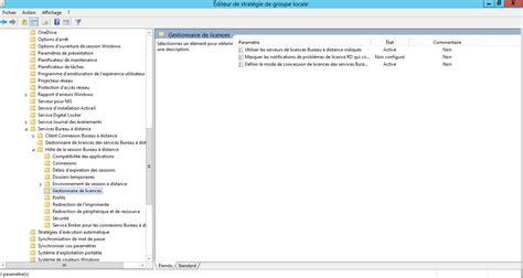 2012 r2 spécifier le serveur de licences rds tse à utiliser