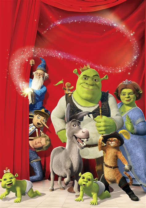 Shrek the Third | Movie fanart | fanart.tv