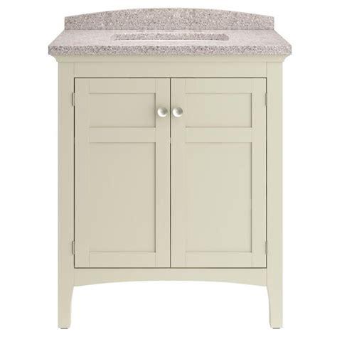 allen and roth bathroom vanity tops shop allen roth brisette undermount single sink