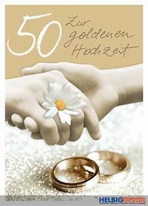Glückwunschkarten Zur Goldenen Hochzeit : gl ckwunschkarte goldene hochzeit 50 01028 ~ Frokenaadalensverden.com Haus und Dekorationen