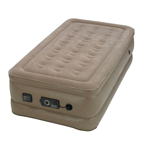 Air Mattress - instabed raised air bed mattress with built in never
