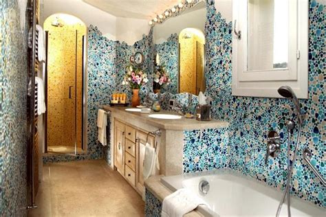 amazing bathrooms with mosaic tiles home ideas