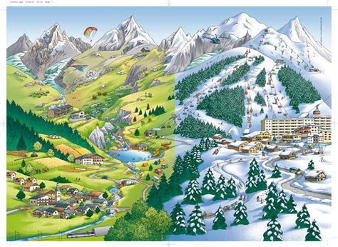 Carte De Montagne Ce1 by Espace Paysage De Montagne Meroute En Clis