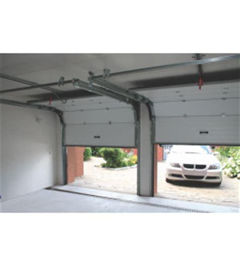porte garage sectionnelle coloris blanc sur mesure
