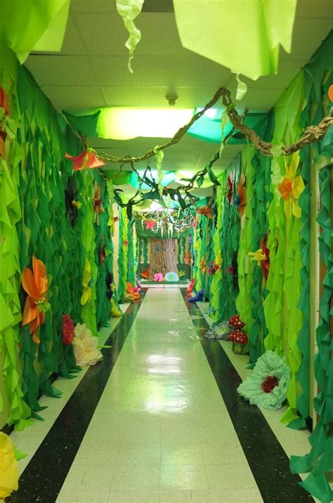 jungle decorations ideas  pinterest diy