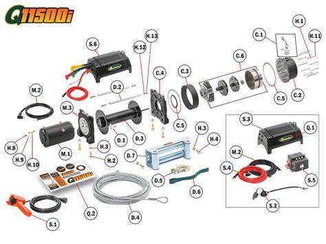 qi winch replacement parts quadratec