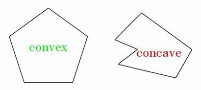 Pentagon Polygons Area Concave Shape Definition Shapes