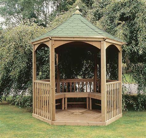 wooden gazebo home garden design
