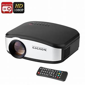 Led 1080p Multimedia Projector With Analog Tv Tuner  Tak