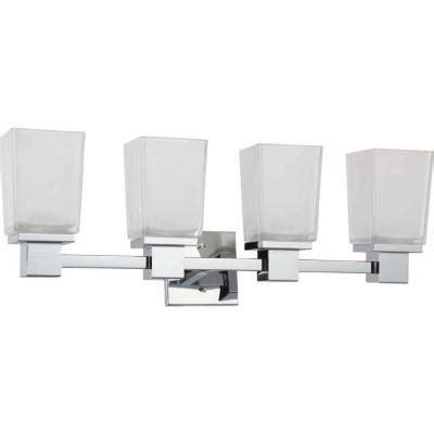kitchen sinks lowes glomar belisana 4 light polished chrome bath vanity light 3024