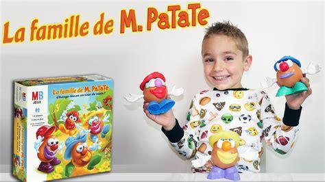 jeu la famille de  patate challenge test jeux de
