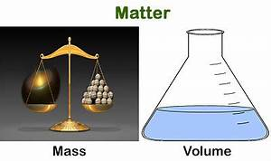 What is the difference between mass and volume ? | Socratic