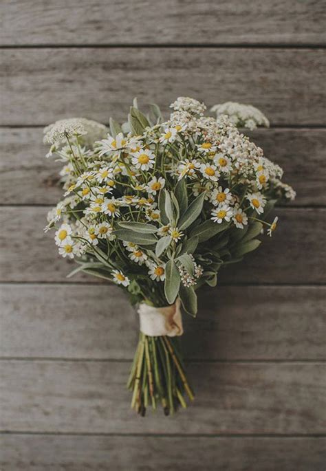 ramos de margaritas blog de bodas de una boda original