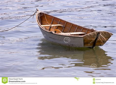 Row Boat On Water by Row Boat In Water