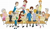 Best Family Reunion Illustrations, Royalty-Free Vector ...