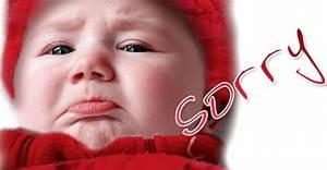 sad baby face sorry | CloudMom