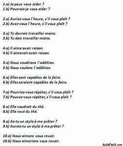 Curso gratis de Francés Elemental Ejercicios Le conditionnel AulaFacil com: Los mejores