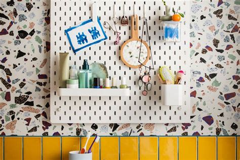ikeas pegboard system finally     curbed