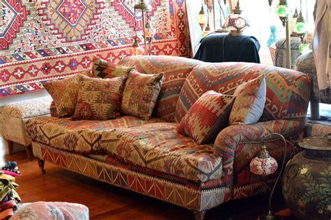 Kilim Loveseat by Spotlight Turkish Textiles Centsational Style