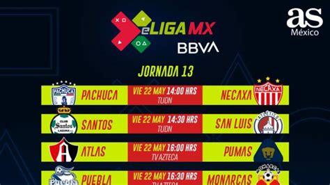 eLiga MX: Fechas y horarios de la jornada 13 - AS México