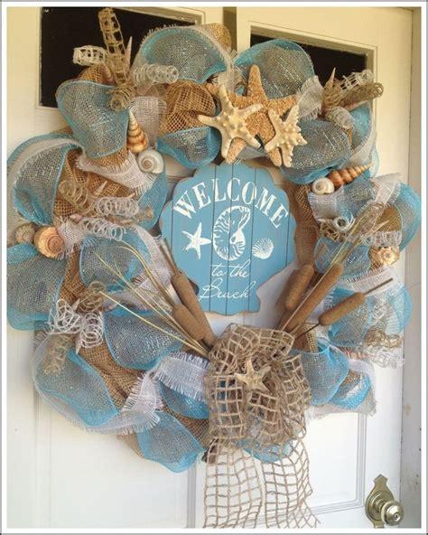 Beach Theme Wreath Wreaths And Door Decor Pinterest