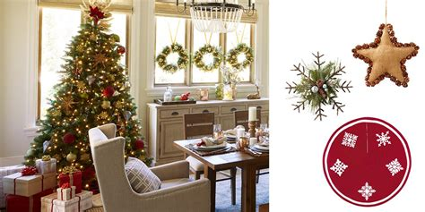 country chic christmas decorating ideas for the home