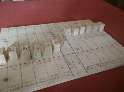 lada da tavolo antica giochi da tavolo dell antica roma legio i italica