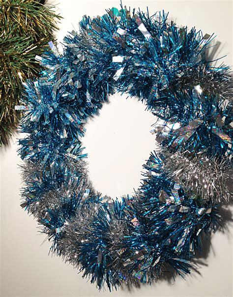 top 28 tinsel wreaths red tinsel snowflake wreath
