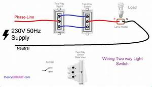 2 Way Wiring Diagram Printable