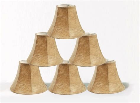 Miniature L Shades For Chandeliers by Urbanest Faux Leather Mini Chandelier L Shades Set Of 6