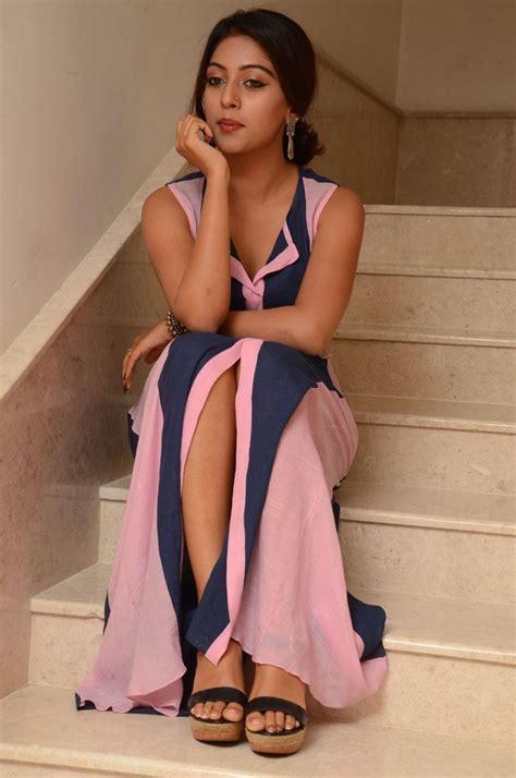 Desi Actress Pictures Anu Emmanuel At Majnu Audio Success