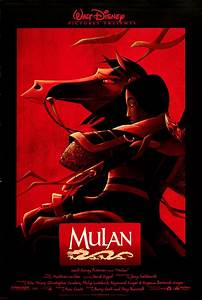 Mulan 1998 Original Movie Poster Adventure Animation ...