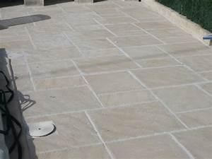 ordinaire pose carrelage exterieur sur dalle beton 9 With pose dalle piscine sur dalle beton