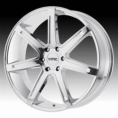 Kmc Chrome Revert Wheels Custom Rims 22x9