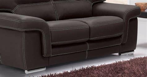 couture canapé cuir aoste salon 3 2 buffle vachette cuir épais