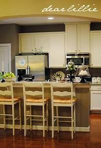 dear lillie39s kitchen wall paint is benjamin moore ashley With kitchen colors with white cabinets with laura ashley wall art