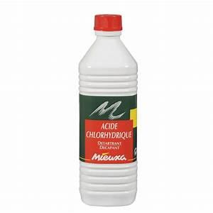 Déboucher Canalisation Acide Chlorhydrique : acide chlorhydrique mieuxa 1 l leroy merlin ~ Medecine-chirurgie-esthetiques.com Avis de Voitures