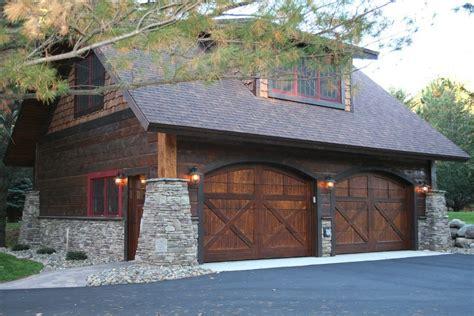 chi carriage house steel garage door garage craftsman