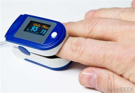 Finger Pulse Oximeter & Heart Rate Monitor