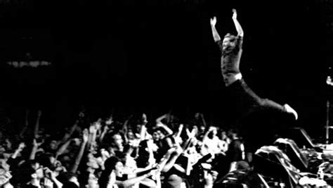 Stage Dive - the holy spirit and stage diving pastorfish