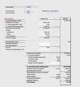Steuererklärung Berechnen 2016 : gewinn steuererkl rung ~ Themetempest.com Abrechnung
