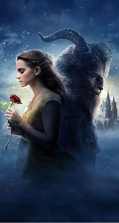 Beast Beauty Wallpapers Iphone Emma Watson Disney