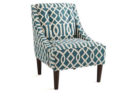 mccarthy swoop arm chair teal