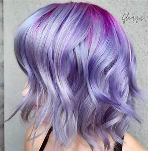 50 Lovely Purple & Lavender Hair Colors - Purple Hair ...