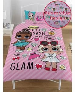 LOL Surprise Single Duvet Cover Set Bedding Bedroom