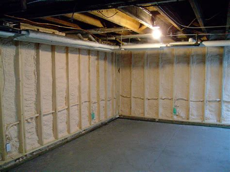 Spray Foam Insulation Basement Smalltowndjscom
