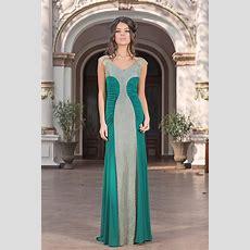 Green Evening Dress  Adeona  Vero Milano Fashion Shop