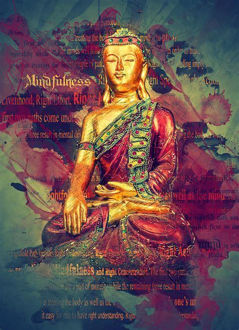 mindfulness buddha photograph  ray van gundy