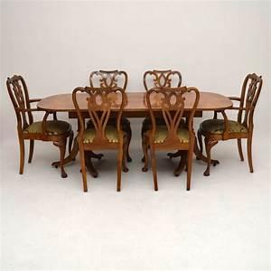 Esstisch 6 Stühle : antiker walnuss esstisch plus 6 st hle ~ Eleganceandgraceweddings.com Haus und Dekorationen
